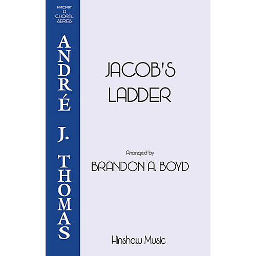 Hinshaw Music Jacob's Ladder SATB arranged by Brandon Boyd
