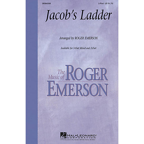 Hal Leonard Jacob's Ladder ShowTrax CD Arranged by Roger Emerson