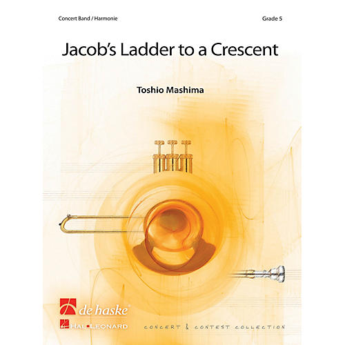 Hal Leonard Jacob's Ladder To A Crescent Score Only Concert Band
