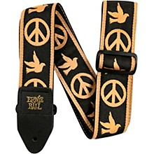 Jacquard Guitar Strap Peace Love Dove