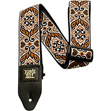 Jacquard Guitar Strap Tribal Brown