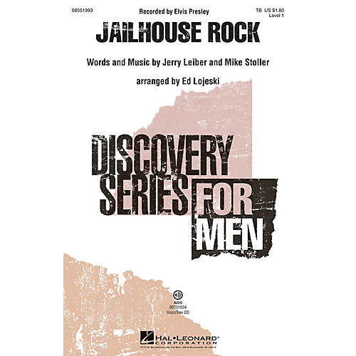 Hal Leonard Jailhouse Rock VoiceTrax CD Arranged by Ed Lojeski