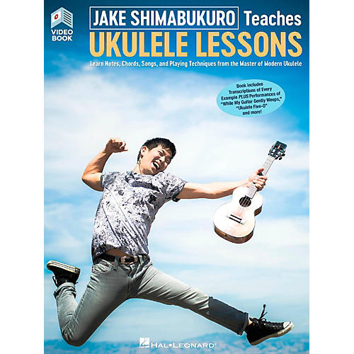 Hal Leonard Jake Shimabukuro Teaches Ukulele Lessons (Video/Book)