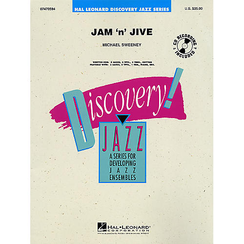Hal Leonard Jam 'N' Jive Jazz Band Level 1-2 Composed by Michael Sweeney