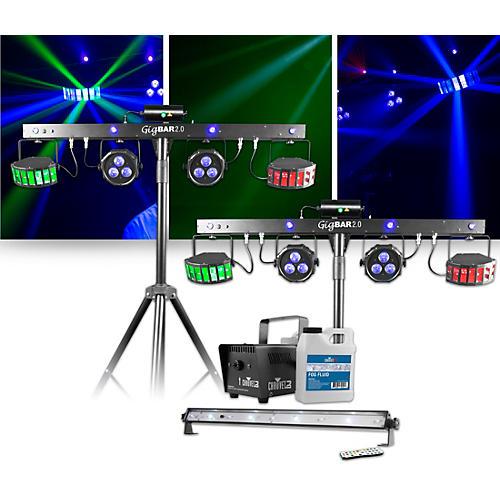 CHAUVET DJ Jam Pack Emerald with Double GigBAR 2 Lighting Package