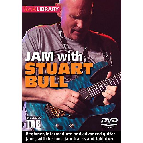 Hal Leonard Jam With Stuart Bull - Lick Library DVD