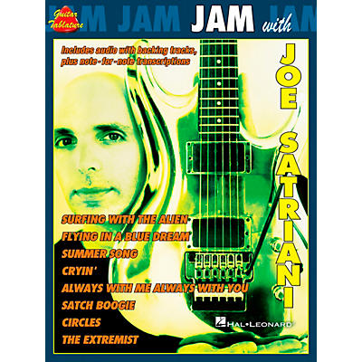 Cherry Lane Jam with Joe Satriani Book with CD