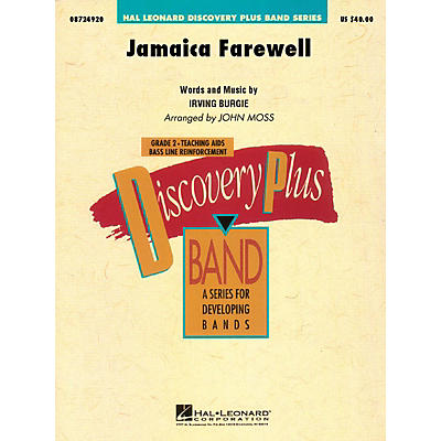 Cherry Lane Jamaica Farewell - Discovery Plus Concert Band Series Level 2 arranged by John Moss