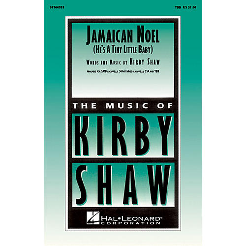 Hal Leonard Jamaican Noel TBB composed by Kirby Shaw