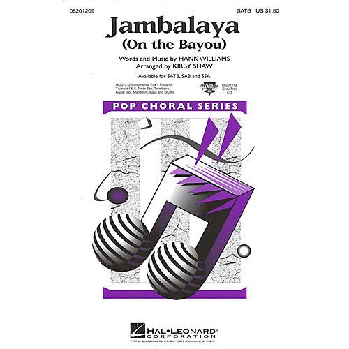 Hal Leonard Jambalaya (On the Bayou) SATB arranged by Kirby Shaw
