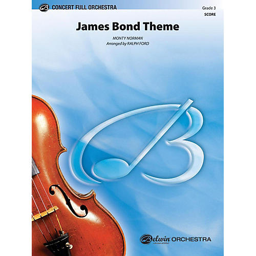 Alfred James Bond Theme Full Orchestra Grade 3