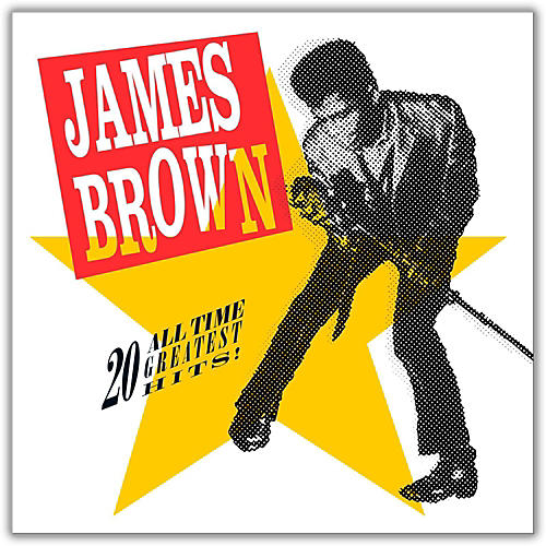 Universal Music Group James Brown - 20 All-Time Greatest Hits Vinyl LP