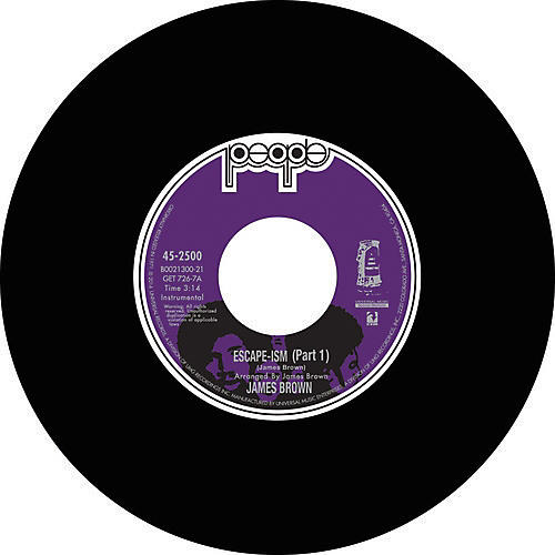 Alliance James Brown - Escape-Ism PTS. 1 & 2