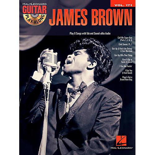Hal Leonard James Brown - Guitar Play-Along Vol. 171 Book/CD