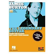 Hal Leonard James Burton - The Legendary Guitar From the Classic Hot Licks Video Series (Book/Video Online)