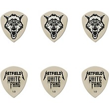 Dunlop James Hetfield Signature White Fang Guitar Picks and Tin
