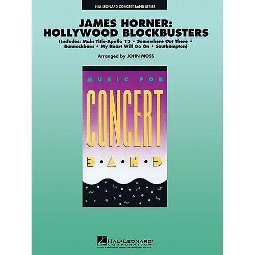 Hal Leonard James Horner - Hollywood Blockbusters Concert Band Level 4-5 Arranged by John Moss