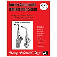 Jamey Aebersold Jamey Aebersold Transcribed Solos (Book/CD)