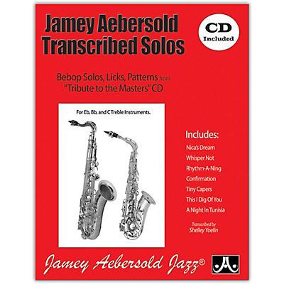 Jamey Aebersold Jamey Aebersold Transcribed Solos (Book/CD)