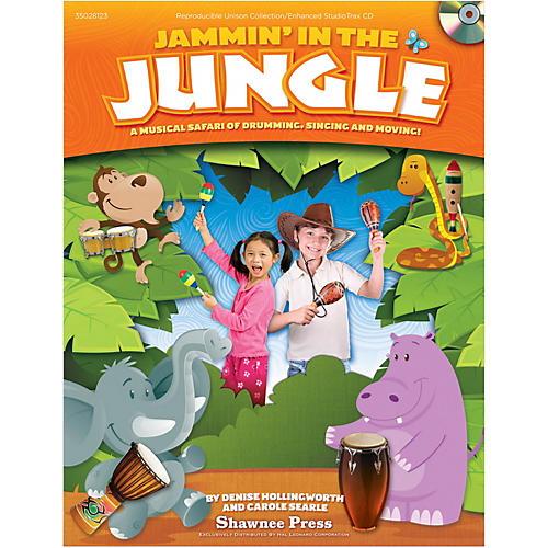 Hal Leonard Jammin' In The Jungle! Book/CD-ROM