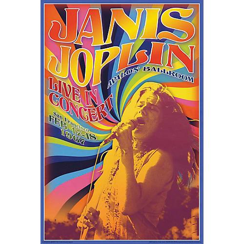 Hal Leonard Janis Joplin Concert - Wall Poster