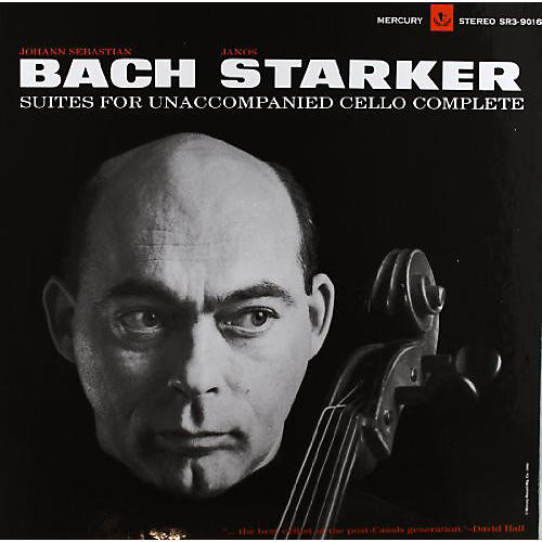 Alliance Janos Starker - Bach-6 Solo Cello Suites