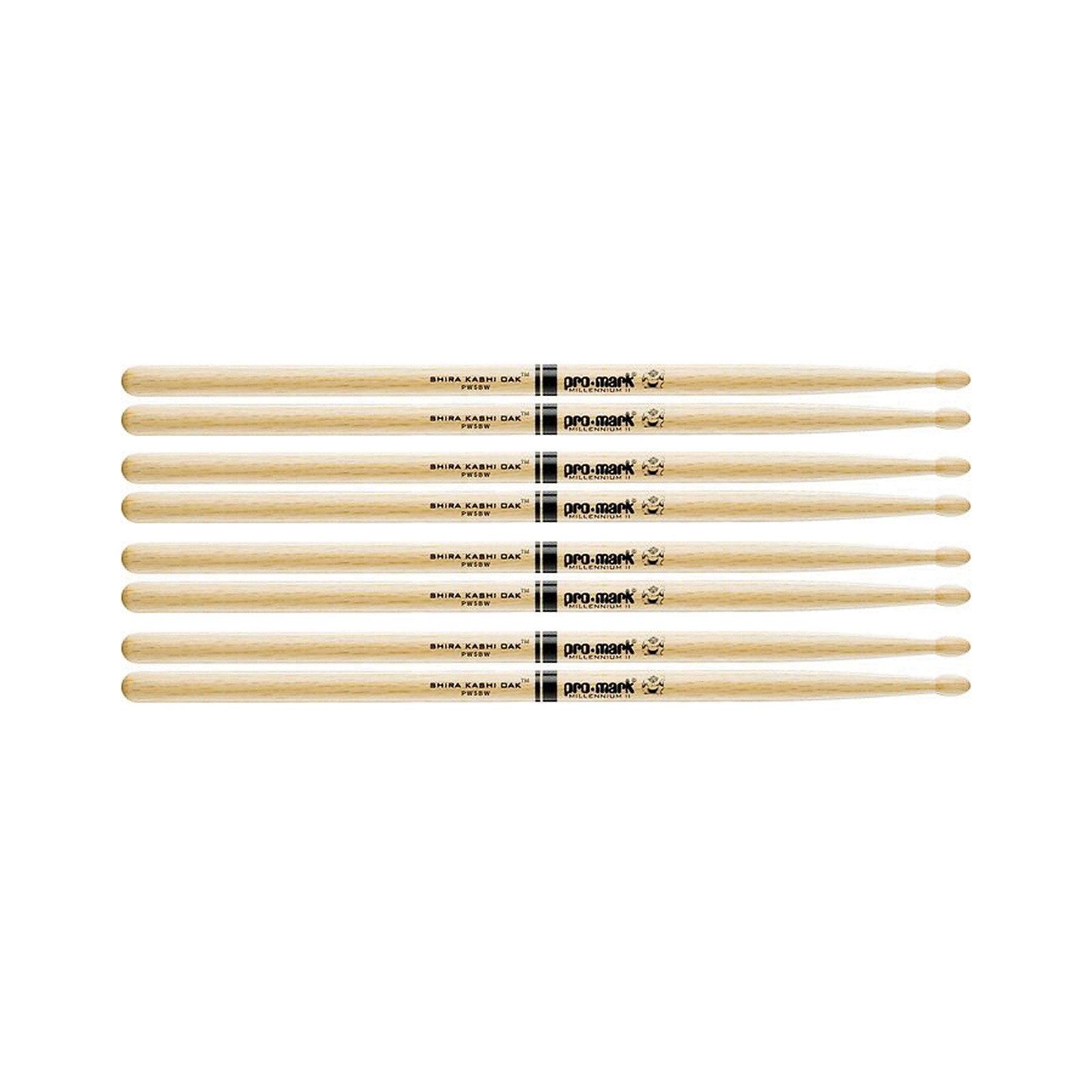 Promark Japanese White Oak Drumsticks 4-Pair