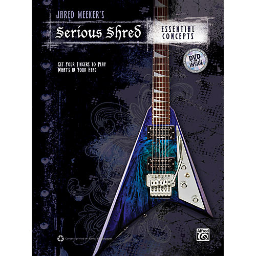 Alfred Jared Meekers Serious Shred - Essential Concepts Book & DVD