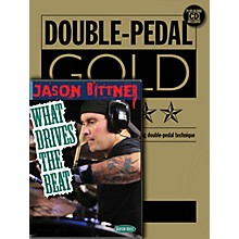 Hudson Music Jason Bittner - Double Bass Drum Pro Method (Book/CD/DVD Pack) DVD Series Performed by Jason Bittner