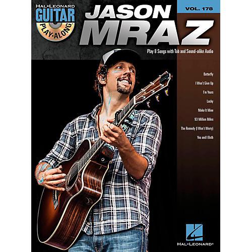 Hal Leonard Jason Mraz - Guitar Play-Along Volume 178 (Book/CD)