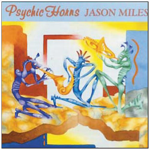 Q Up Arts Jason Myles Psychic Horns CD Audio/S5000