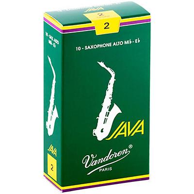 Vandoren Java Alto Saxophone Reeds
