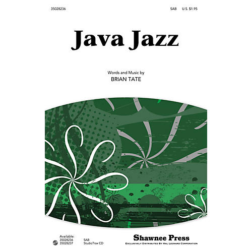 Shawnee Press Java Jazz Studiotrax CD Composed by Brian Tate
