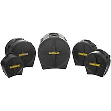 HARDCASE Jazz 5-Piece Drum Case Set