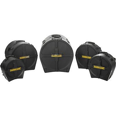 HARDCASE Jazz 5-Piece Drum Case Set