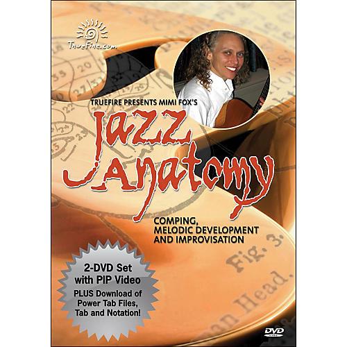 Hal Leonard Jazz Anatomy - Instructional Guitar 2-DVD Pack Featuring Mimi Fox