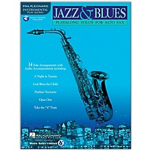 Hal Leonard Jazz And Blues Playalong Solos for Alto Sax (Book/Online Audio)