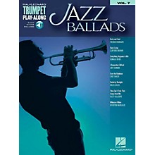 Hal Leonard Jazz Ballads - Trumpet Play-Along Vol. 7 Book/Audio Online