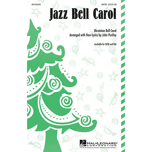 Hal Leonard Jazz Bell Carol SSA Arranged by John Purifoy