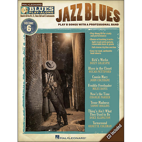 Hal Leonard Jazz Blues - Blues Play-Along Volume 6 (Book/CD)