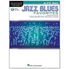Hal Leonard Jazz Blues Favorites (Alto Sax) Instrumental Play-Along Series Softcover Audio Online