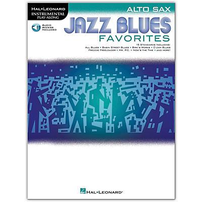 Hal Leonard Jazz Blues Favorites (Alto Sax) Instrumental Play-Along Series Softcover Audio Online