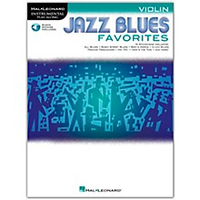 Hal Leonard Jazz Blues Favorites (Violin) Instrumental Play-Along Series Softcover Audio Online
