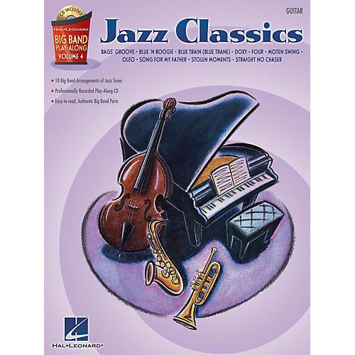 Hal Leonard Jazz Classics - Guitar (Big Band Play-Along Volume 4) Big Band Play-Along Series Softcover with CD