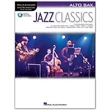Hal Leonard Jazz Classics For Alto Sax Instrumental Play-Along Book/Audio Online