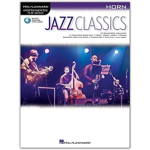 Hal Leonard Jazz Classics For Horn Instrumental Play-Along Book/Audio Online