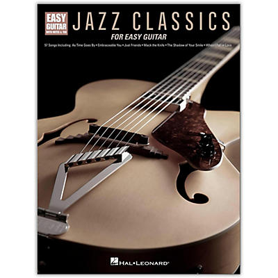 Hal Leonard Jazz Classics for Easy Guitar (With Tab)