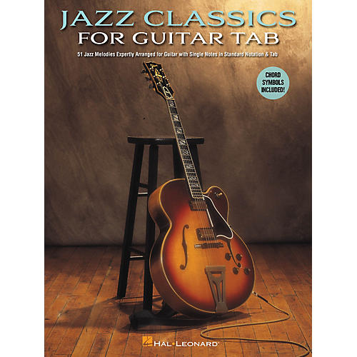 Hal Leonard Jazz Classics for Guitar Tab Guitar Collection Series Softcover