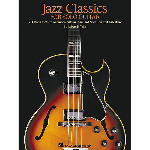 Hal Leonard Jazz Classics for Solo Guitar Book