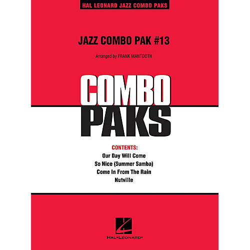 Hal Leonard Jazz Combo Pak #13 (with audio download) Jazz Band Level 3 Arranged by Frank Mantooth